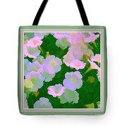 Pastel Flowers II Tote Bag