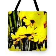 Pastel Flowers Tote Bag