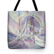 Pastel Fractal Tote Bag