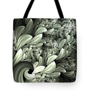 Pastel Garden Abstract Tote Bag