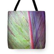Pastel Leaf Detail Tote Bag