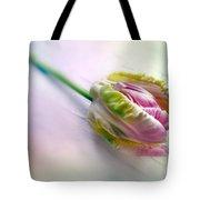 Pastel Parrot Tulip Tote Bag