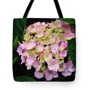 Pastel Pink Hydrangea Tote Bag