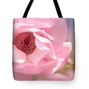 Pastel Pink Petals And Paint Tote Bag
