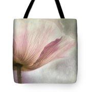 Pastel Pink Poppy Tote Bag