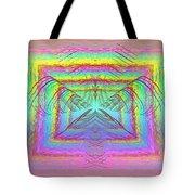 Pastel Rainbow Reverberations Tote Bag