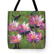 Pastel Water Lilies I  Tote Bag