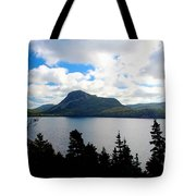 Pastoral Scene By The Ocean Painterly Tote Bag