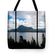 Pastoral Scene By The Ocean Triptych Tote Bag