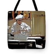 Female Austrian Pastry Chef Tote Bag