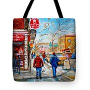 Pastry Shop And Tea Room Tote Bag