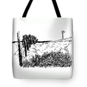 Pasture  Tote Bag by Jean Ann Curry Hess