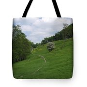 Pasture Land At Ashford-in-the-water Tote Bag