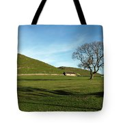 Pasture Land At Thorpe - Derbyshire Tote Bag