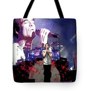 Pat Monahan Of Train Tote Bag