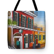 Pat O's Courtyard Entrance Tote Bag