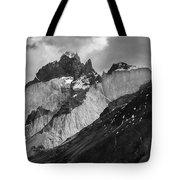 Patagonian Mountains Tote Bag