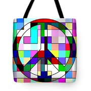 Patch Peace Tote Bag