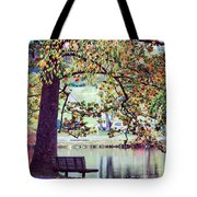 Patches Of Color Tote Bag