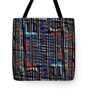 Patchwork Architecture 2 Tote Bag