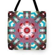 Patchwork Art Tote Bag