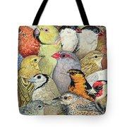 Patchwork Birds Tote Bag