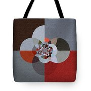 Patchwork Craze - Abstract - Triptych Tote Bag