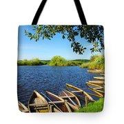 Pateira Boats Tote Bag