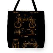 Patent Art 1920 Herzog Hobby Horse Gold Tote Bag