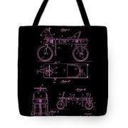 Patent Art 1920 Herzog Hobby Horse Pink Tote Bag