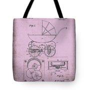 Patent Art Baby Carriage 1920 Lark Invite IIi Tote Bag
