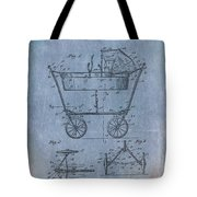Patent Art Baby Carriage 1922 Mahr Denim Tote Bag
