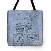 Patent Art Baby Carriage Lark II Invite Tote Bag