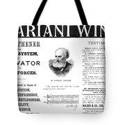 Patent Medicine Ad, 1893 Tote Bag by Granger