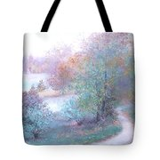 Path By The River Tote Bag