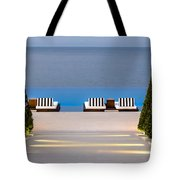 Path Leading To Heaven Tote Bag