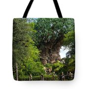 Path Leading To Tree Of Life Tote Bag