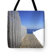 Path Out To Sea Tote Bag