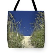 Path Through The Dunes Tote Bag