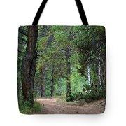 Path Through The Pines - Casper Mountain - Casper Wyoming Tote Bag