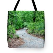 Path Through The Woods Tote Bag