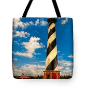 Path To Cape Hatteras Light Tote Bag