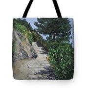 Path To L'eremo Sul Mare Tote Bag