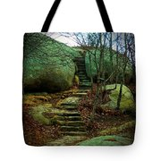 Path To Munchkinville Tote Bag by Marcia Lee Jones