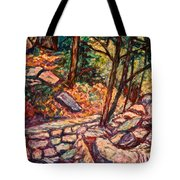 Path To The Cascades Tote Bag