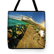 Path To The Golden Gate Tote Bag
