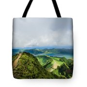 Path To The Lakes Tote Bag