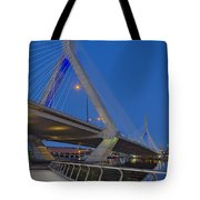 Path To The Leonard P. Zakim Bridge Tote Bag