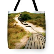 Path To The Sea Tote Bag