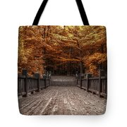 Path To The Wild Wood Tote Bag by Scott Norris